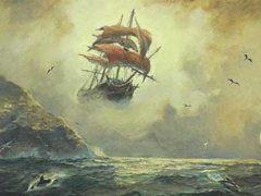 Пираты 16-го века все еще в бою, встреча двух столетий.
