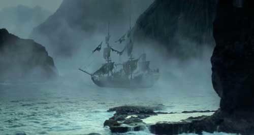 Призрачный корабль капитана Черная борода