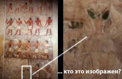 удивительные изображения есть на древних стенах