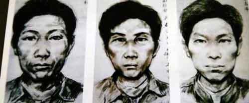 Фотопортреты Джека Потрошителя по имени Гао Чэнъюн