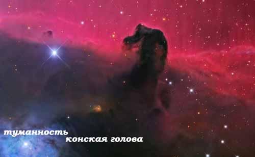 туманность Конская голова, созвездие Орион
