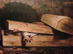 Каталепсия, случаи людей, похороненных заживо.