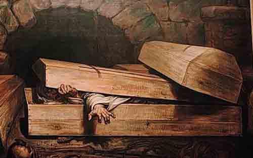 Страшные случаи людей, похороненных заживо