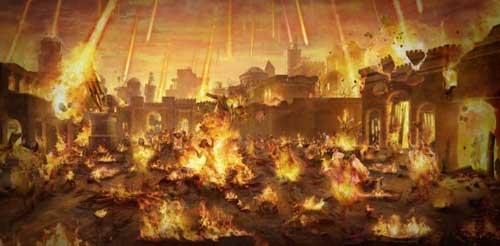 гибель городов Содом и Гоморра