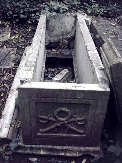 Кладбище Хайгейт в 1970 годы
