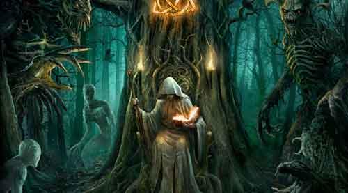 Маги и колдуны в коллективном воображении, друиды были философы, врачеватели и астрономы