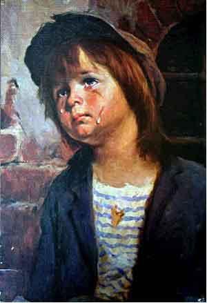 Огненное проклятие плачущего мальчика