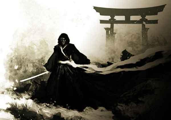 Синигами, бог смерти Японии