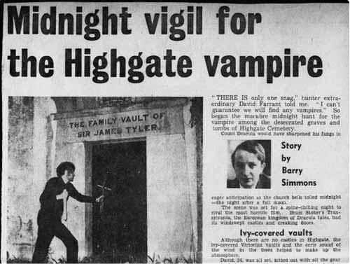 охота на вампиров Фарранта