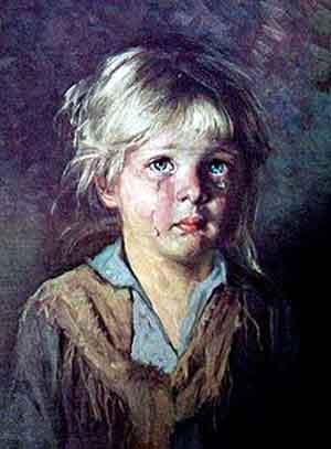 серия плачущие дети Браголини несут проклятие