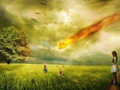 Конец света, что страшнее; столкновение двух галактик или угроза астероидов.