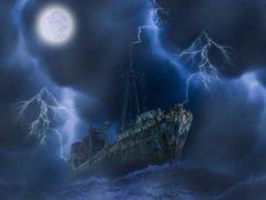 Тайны Бермудского треугольника, теории исчезновения кораблей.