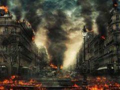 Различные варианты угроз (конец света), которые могут уничтожить человечество.