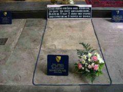 Проклятие могилы Шекспира, смерть поднявшему прах.