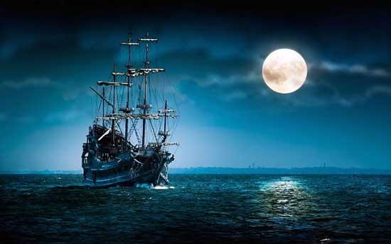 Летучий Голландец, странствующий корабль-призрак