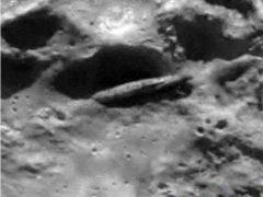Космический корабль на Луне, правда и мифы.
