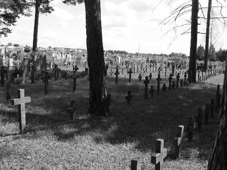 Курляндский котел, откуда беруться призраки на кладбище