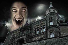 Образ вампиров и кровь графа Дракулы.