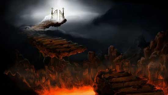 Устройство ада потребовало неимоверного труда и дьявол с этим справился
