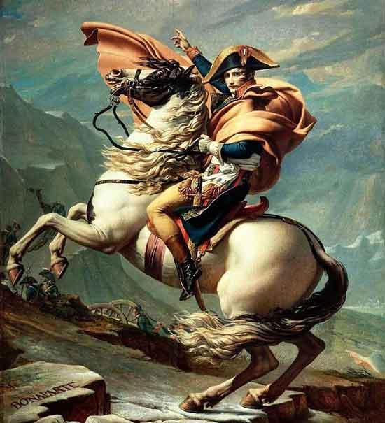 Призрак Наполеона в день своей смерти навестил мать