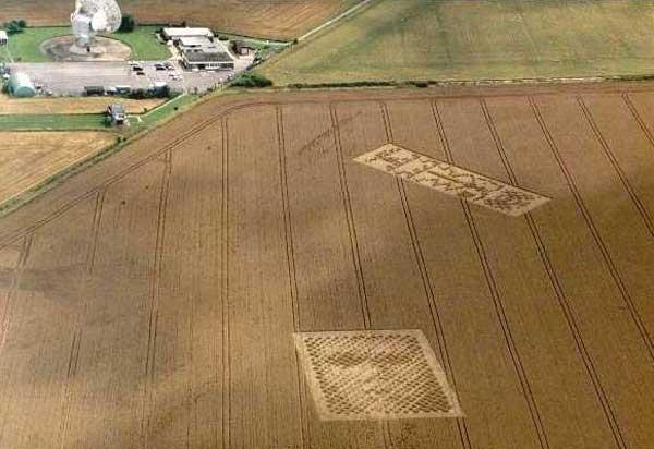 круги на полях города Уинчестера в графстве Хэмпшир
